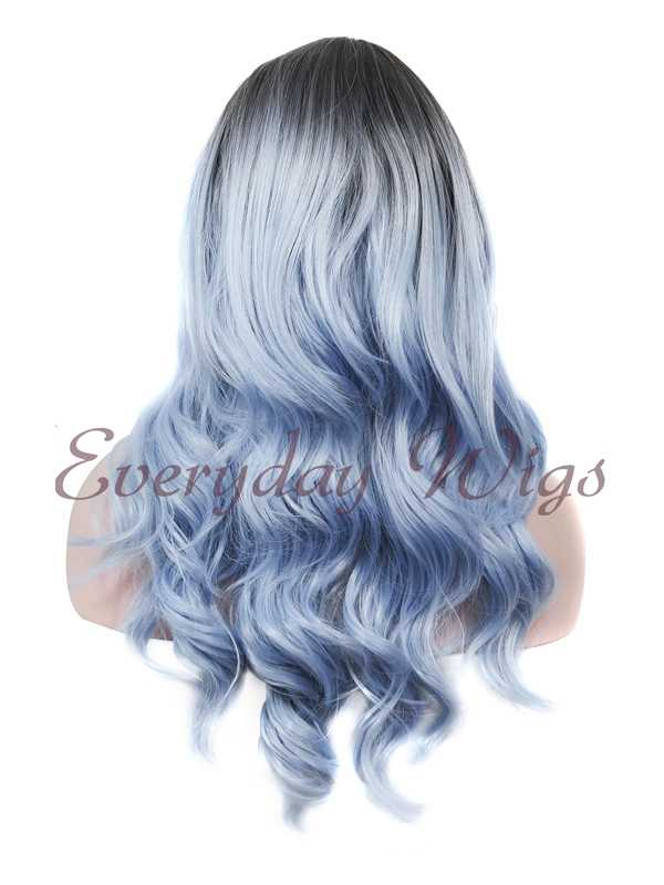 "24"" Wefted Cap Synthetic Wig - edw018"