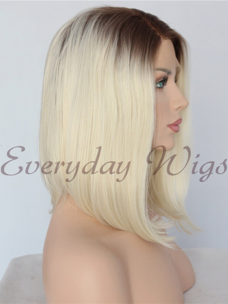 "26"" Ombre blonde Synthetic Lace Front Wig-edw1070"