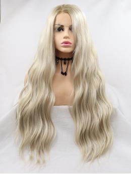 "24"" Unicorn Ombre Synthetic Lace Front Wigs- edw1129"