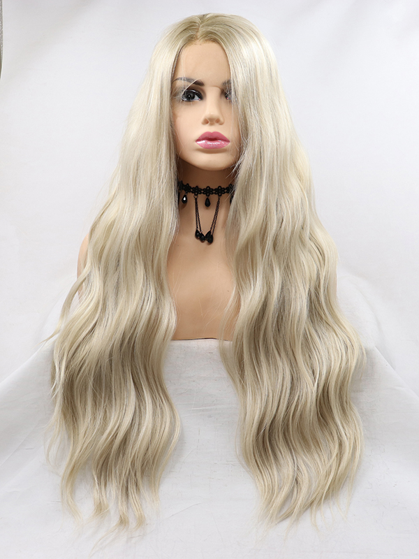 "14"" Pink ombre bob Synthetic Lace Front Wig - edw1129"