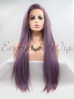 "26"" Ombre Red synthetic Lace Front Wig-edw1137"