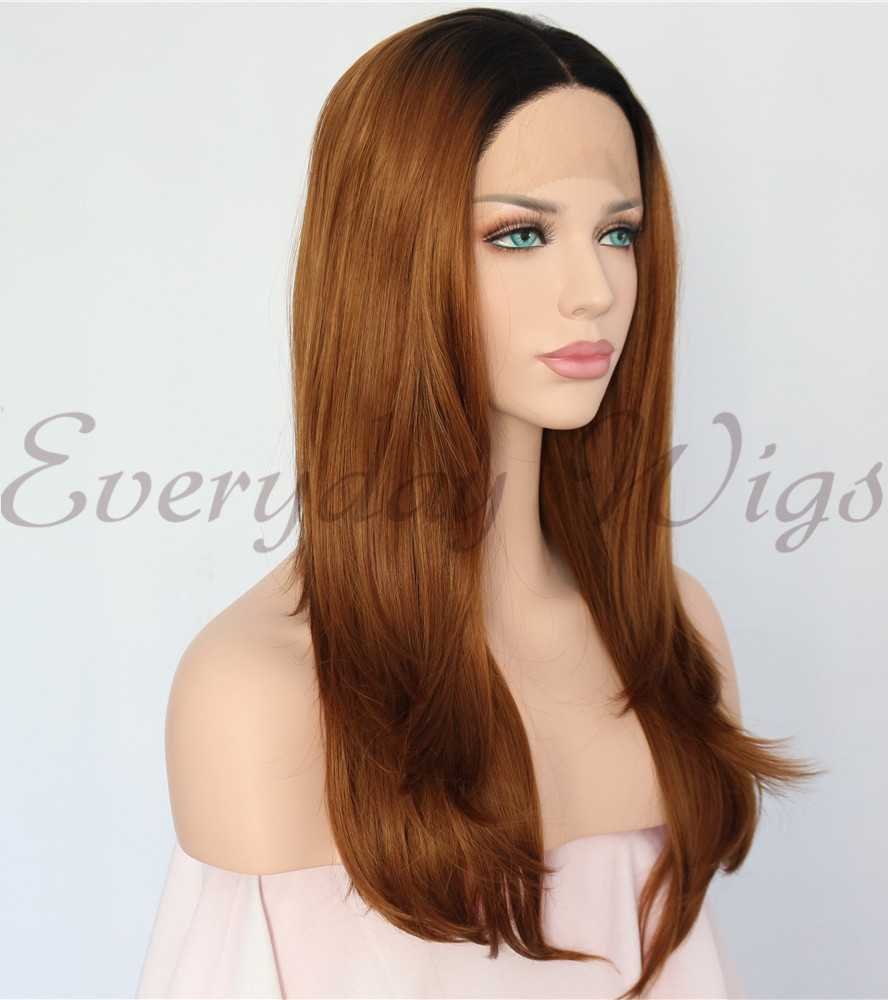 Rainbow Synthetic Lace Front Wig-edw1150