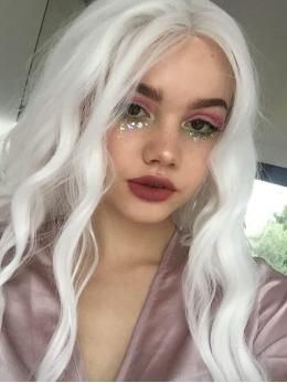796e2d8bd White synthetic lace front wigs,White wigs