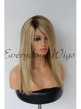 Ombre Blonde Human Hair Wig- edw2031