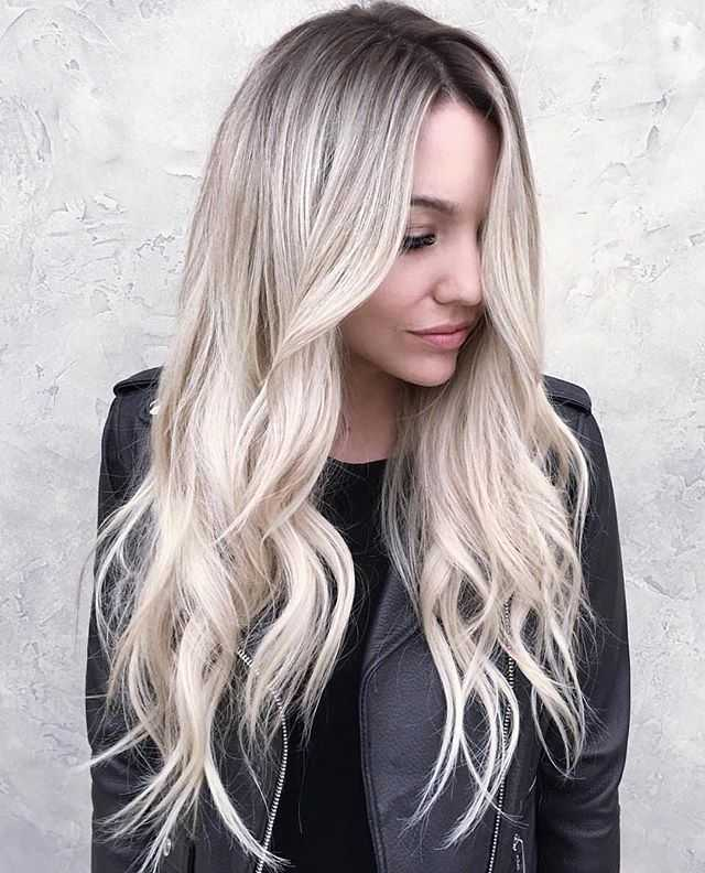 Ombre Blonde Human Hair Wig- edw2074