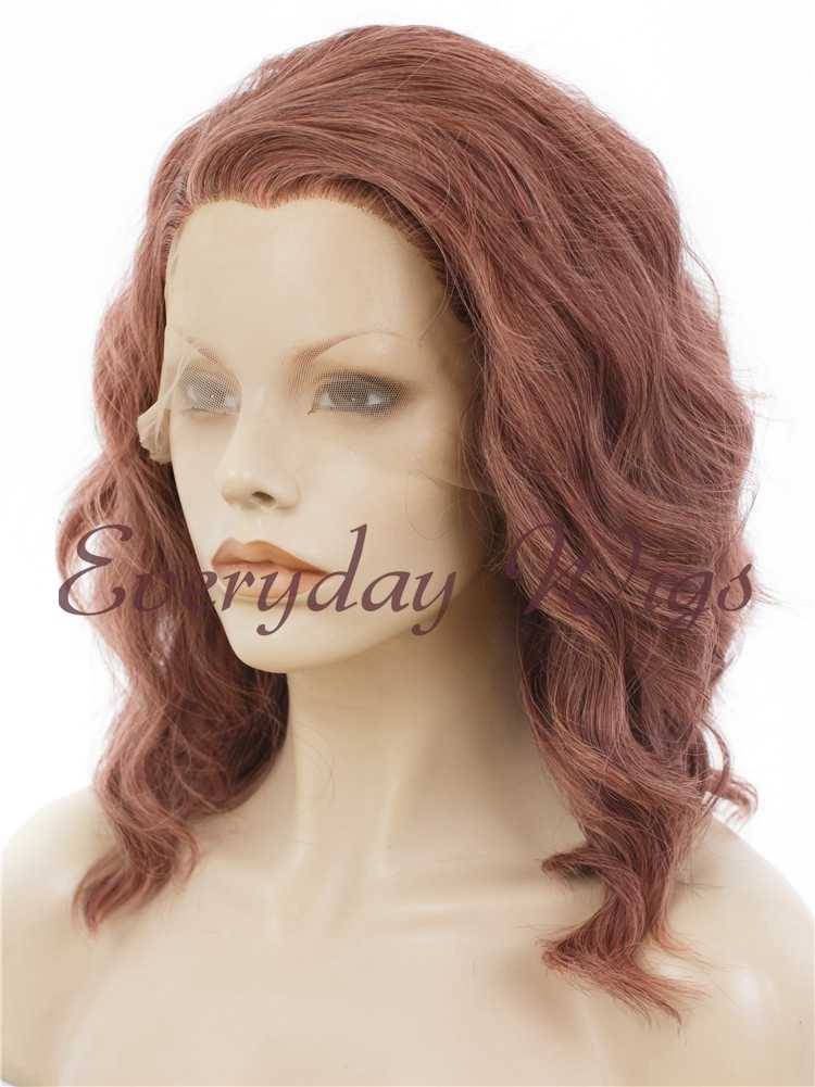 "14"" Sienna short bob Synthetic hair Wig- edw282"