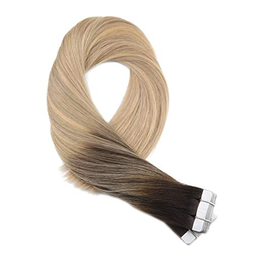 Ombre Blonde Tape in Hair Extensions ( #2/16/24)-edw5020