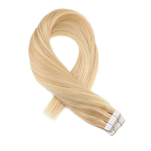 Ombre Blonde Tape in Hair Extensions ( #16/22)-edw5021