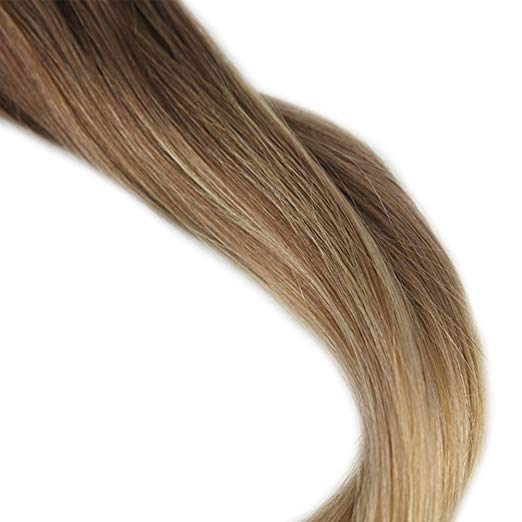 Ombre Blonde Clip in Hair Extensions #10/#14-edw5100