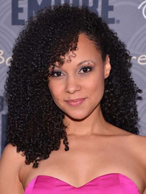 Tight Curl Human Hair Lace Wigs-edw7006