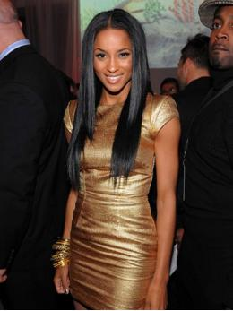 Ciara Long Straight Human Hair Lace Wigs-edw7022