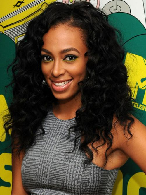 Solange Wavy Human Hair Lace Wigs-edw7026